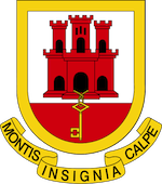 527px Coat of arms of Gibraltar2