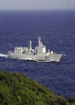 Chinese destroyer Shenzhen DDG167