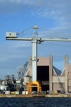Crane in portsmouth