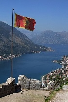Flag of Montenegro Kotor profile