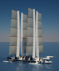 Flying Yacht Octuri Design longer