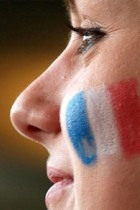 French fan via Flikr