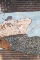 Hulme Library mural detail Windrush 140