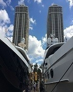 Miami Scott 2 boats 2 towers profile 190