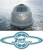 Private Jet Capsule Rear Closed with logo profile