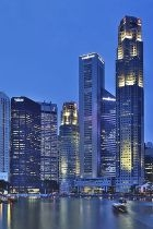 Singapore Skyline at blue hour 8026584052 140