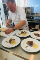 Superyacht Chefs Competition Bruno Chailan MY Mimtee