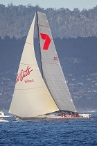 Wild Oats XI about to finish 2011 Sydney to Hobart thumbnail v2