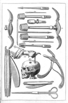 Woodall The surgeons mate trepanning instruments Wellcome institute