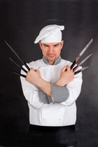 chef with knives profile pic