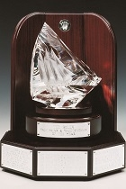 rolex yachtsman of the year trophy