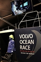 volvo at salon nautique paic